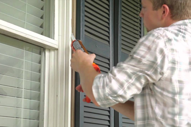 You wouldn't open your windows in the winter, but if they're not caulked well, it'll feel like they're open anyway!