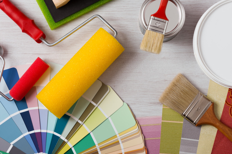 Sometimes, enhancing your home's resale value is as simple as a fresh, bright coat of paint - have fun with it!